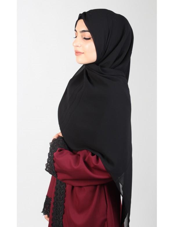 Hijab carré extra long