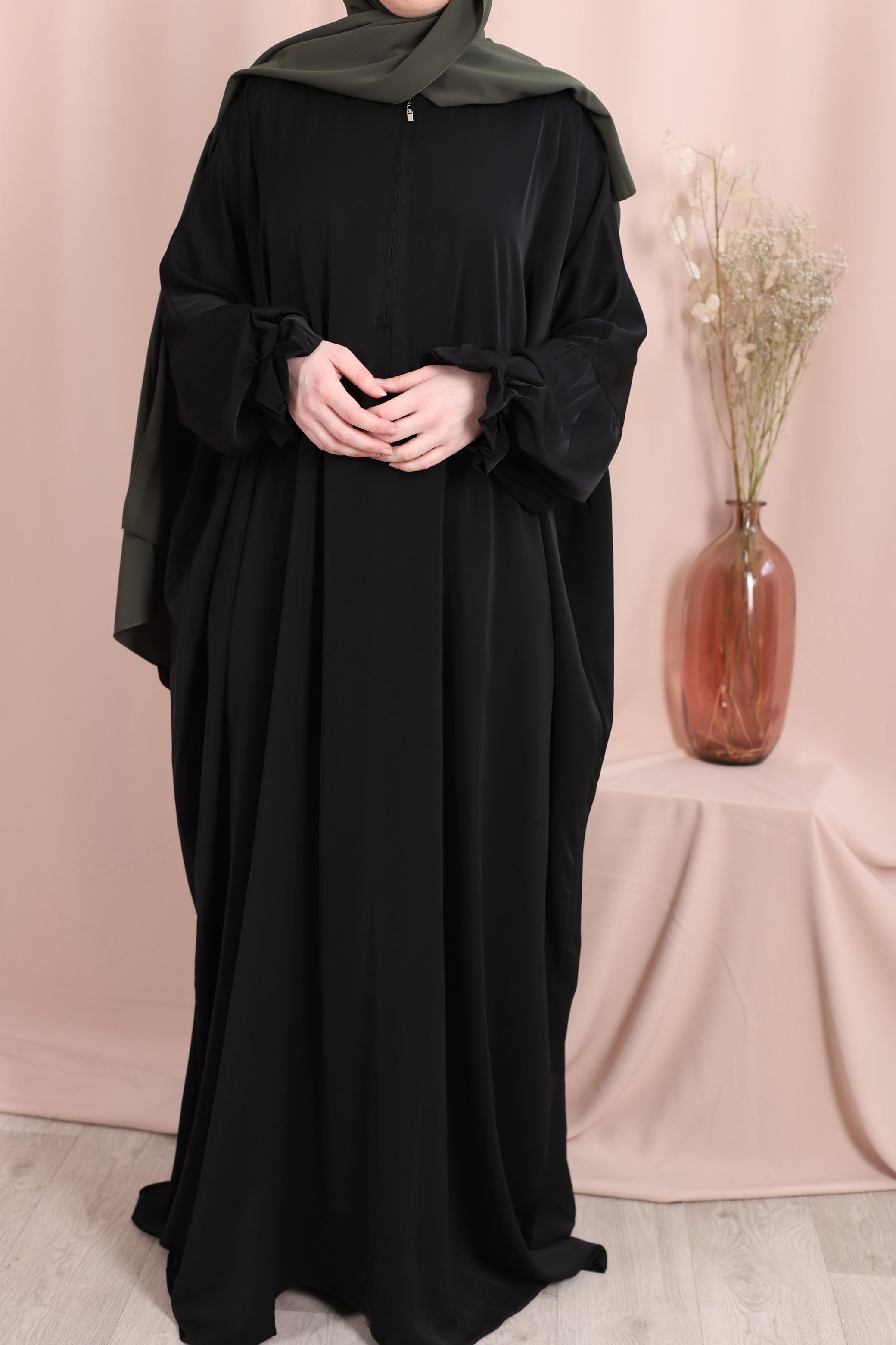 Abaya sarah noir
