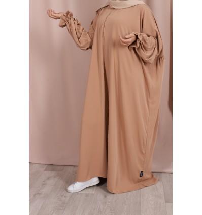 Abaya sarah camel