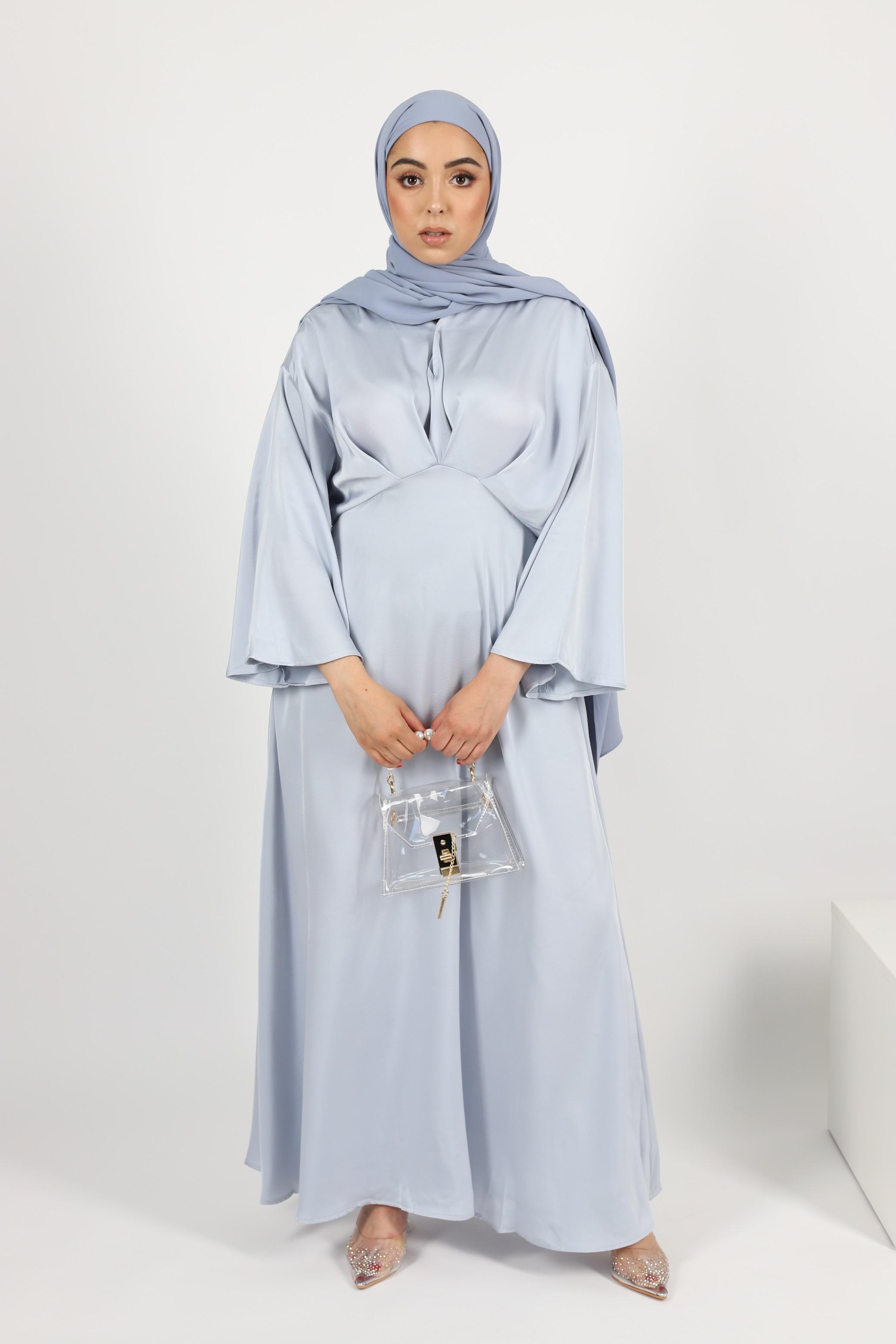 Robe ceremony bleu ciel