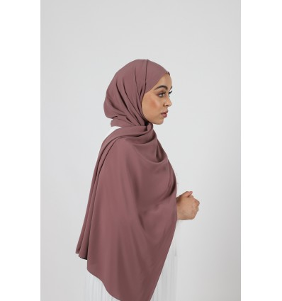 Hijab soie de medine violine