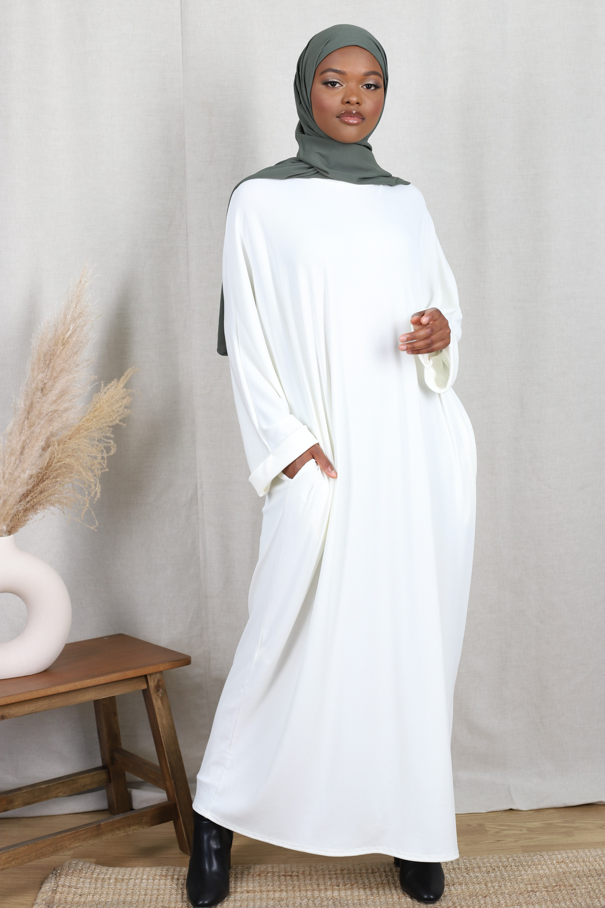 Robe basic côtelé
