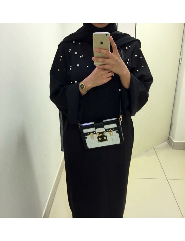 Abaya PERL black