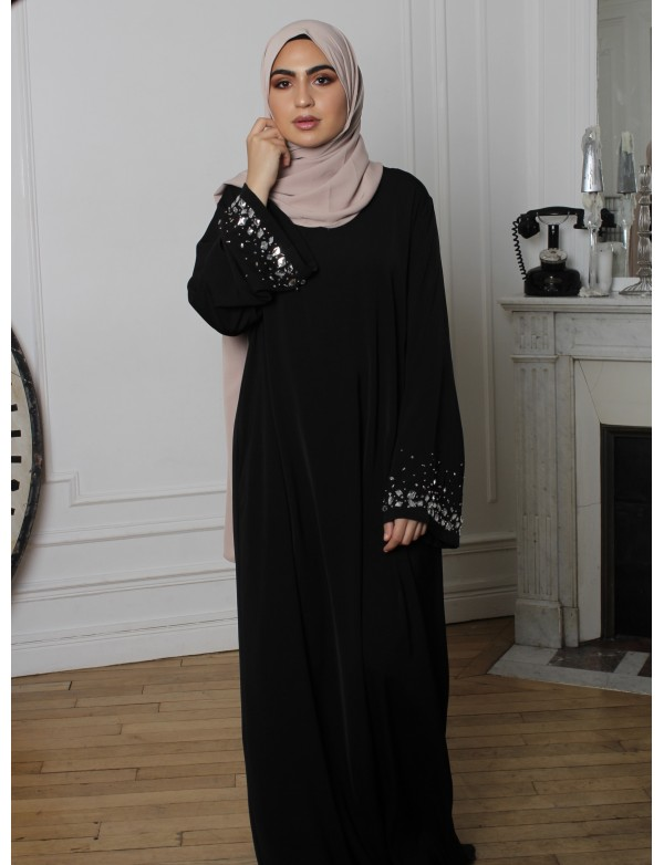 Abaya creation sequin