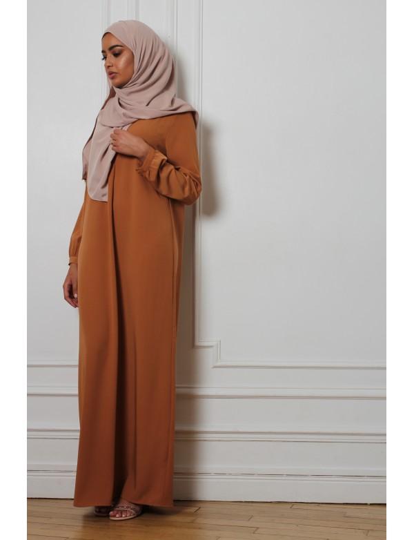 Abaya basic camel