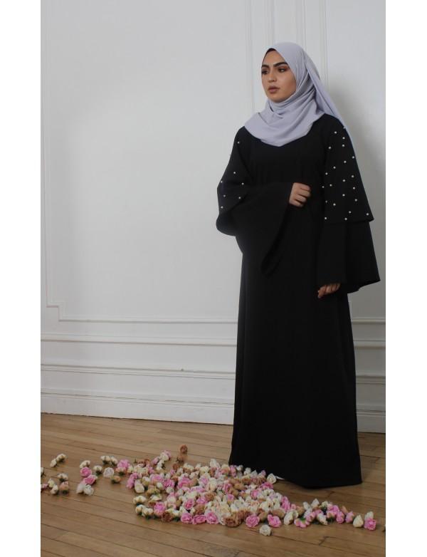 Abaya TAYBA noir