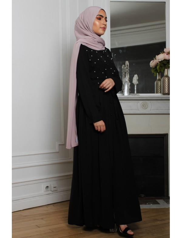 Robe pearly noir