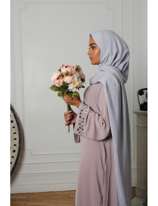 CREATION MAXI HIJAB GRIS