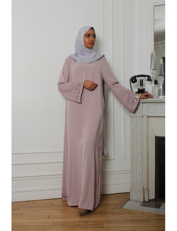 CREATION ABAYA CRYSTAL MAUVE