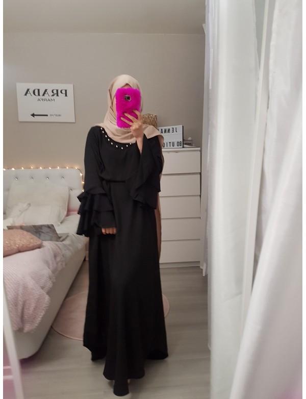 Robe volant noir