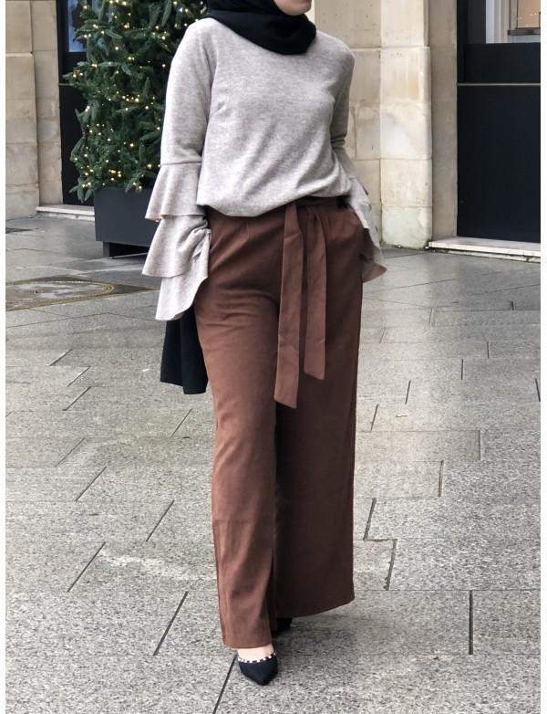 Pantalon daim
