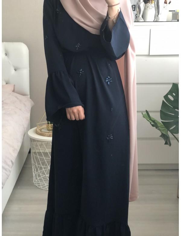Robe longue SIMRA bleu