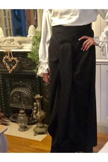 Jupe wrap noir