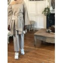 Ensemble wrap beige