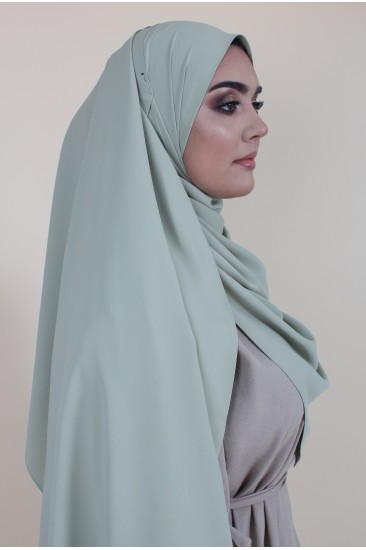 Maxi hijab vert