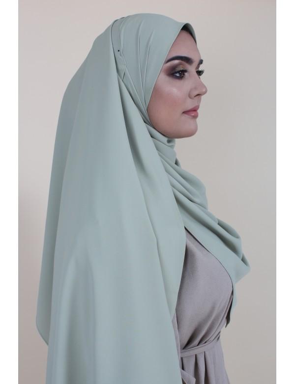 Maxi hijab green