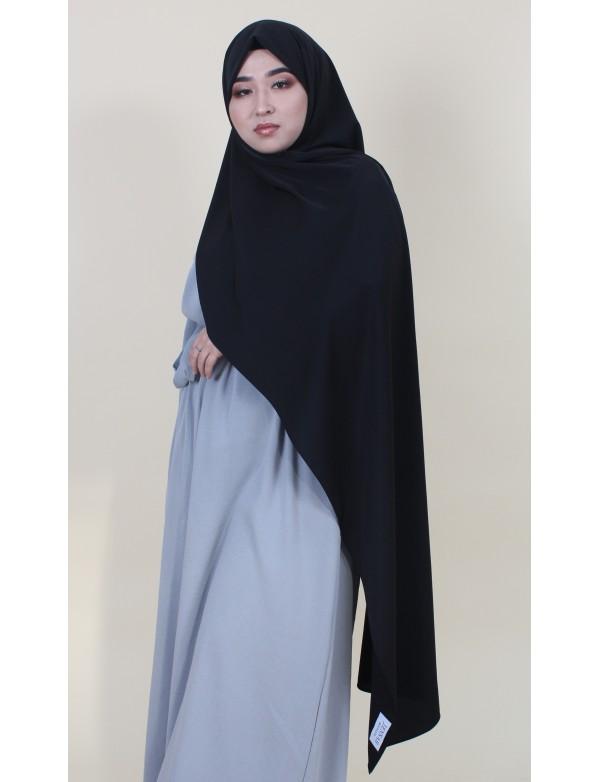 Maxi hijab black
