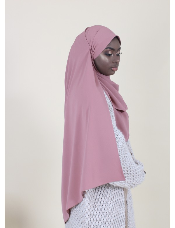 MAXI HIJAB DUSTY PINK