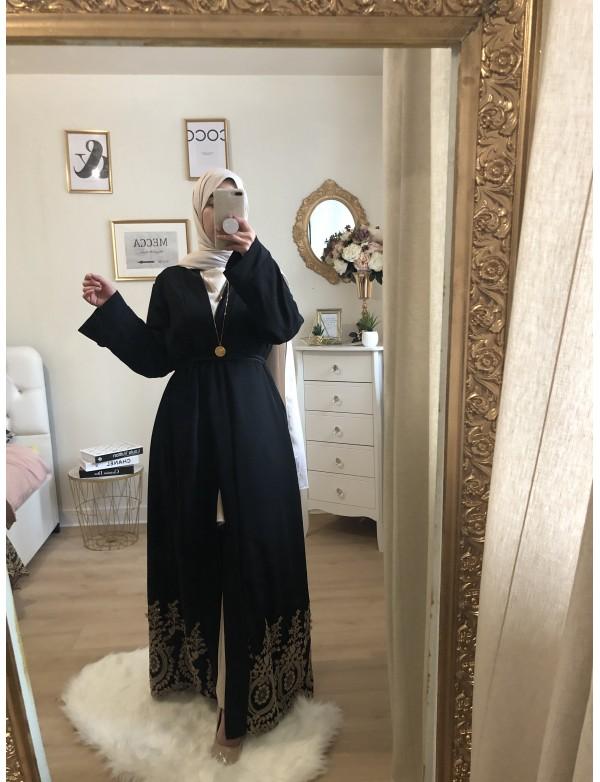Kimono gold black