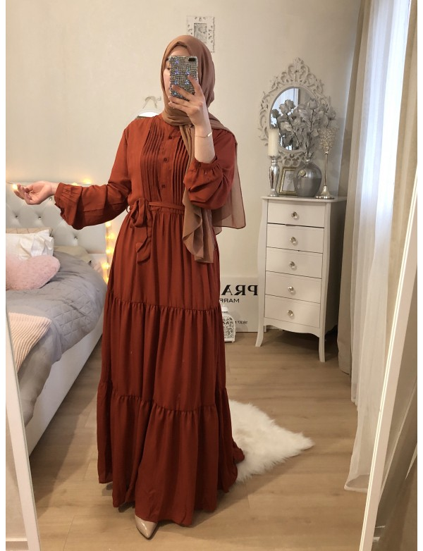 Robe DOLL rouille