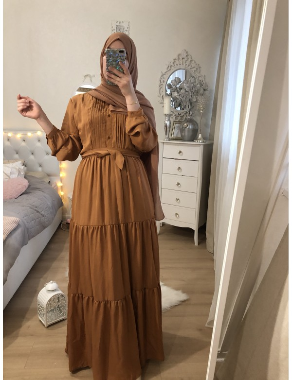 Robe DOLL camel