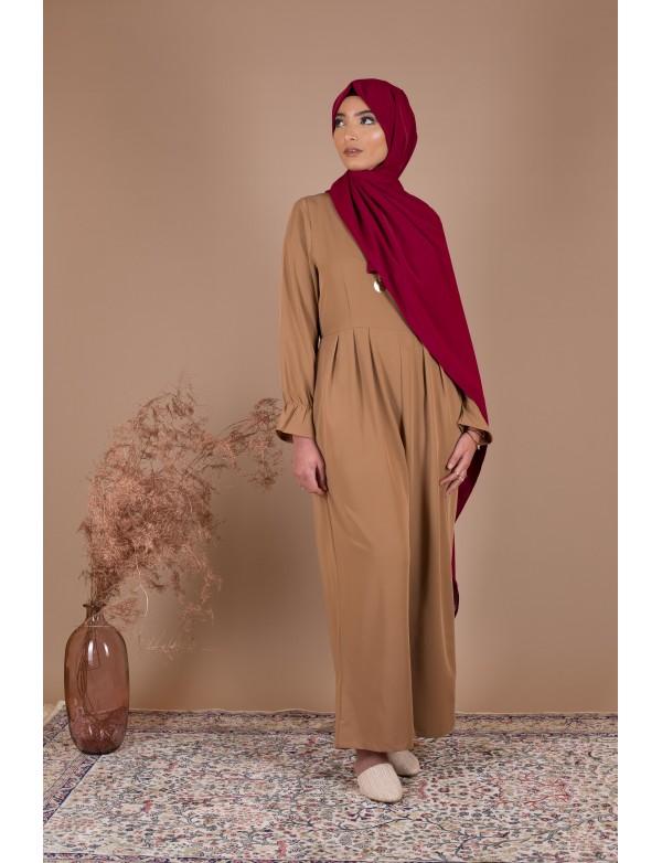 Combinaison loose camel