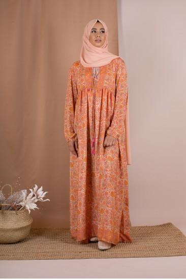 Robe longue elia