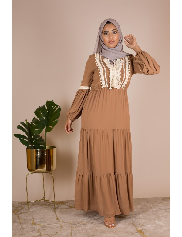 Robe nina camel