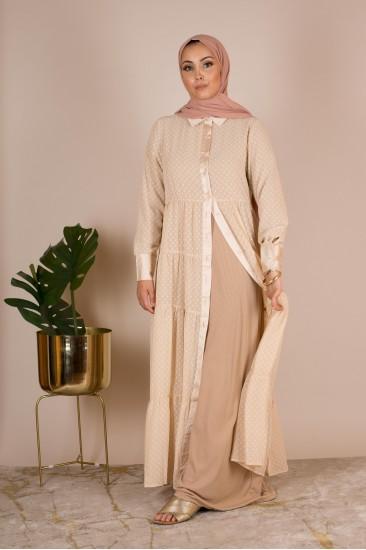 Kimono chemise gold
