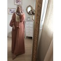 Robe lace rose
