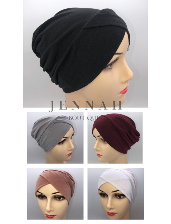 Bonnet croisé