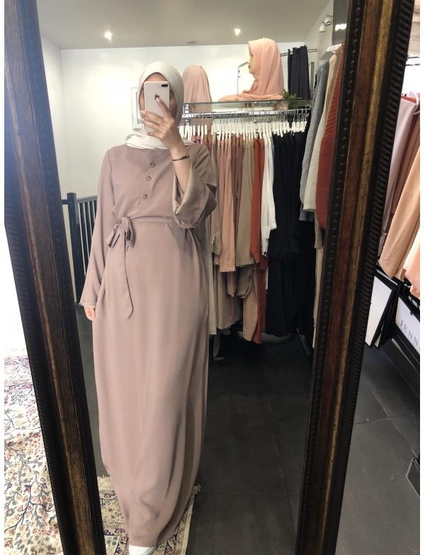 Abaya droite amani