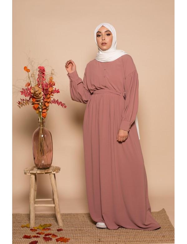 Robe aya voeux rose