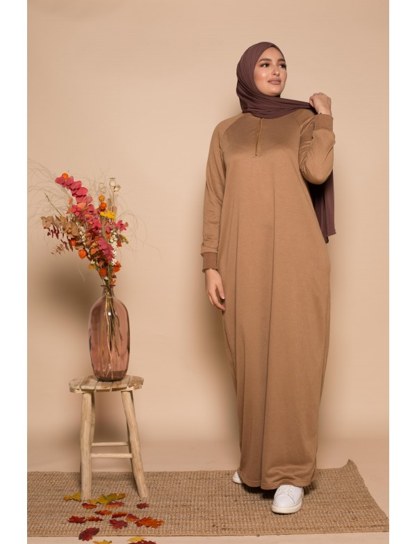 Robe zippy camel