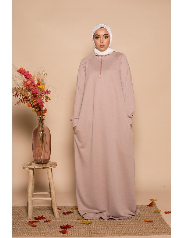 Robe zippy mauve