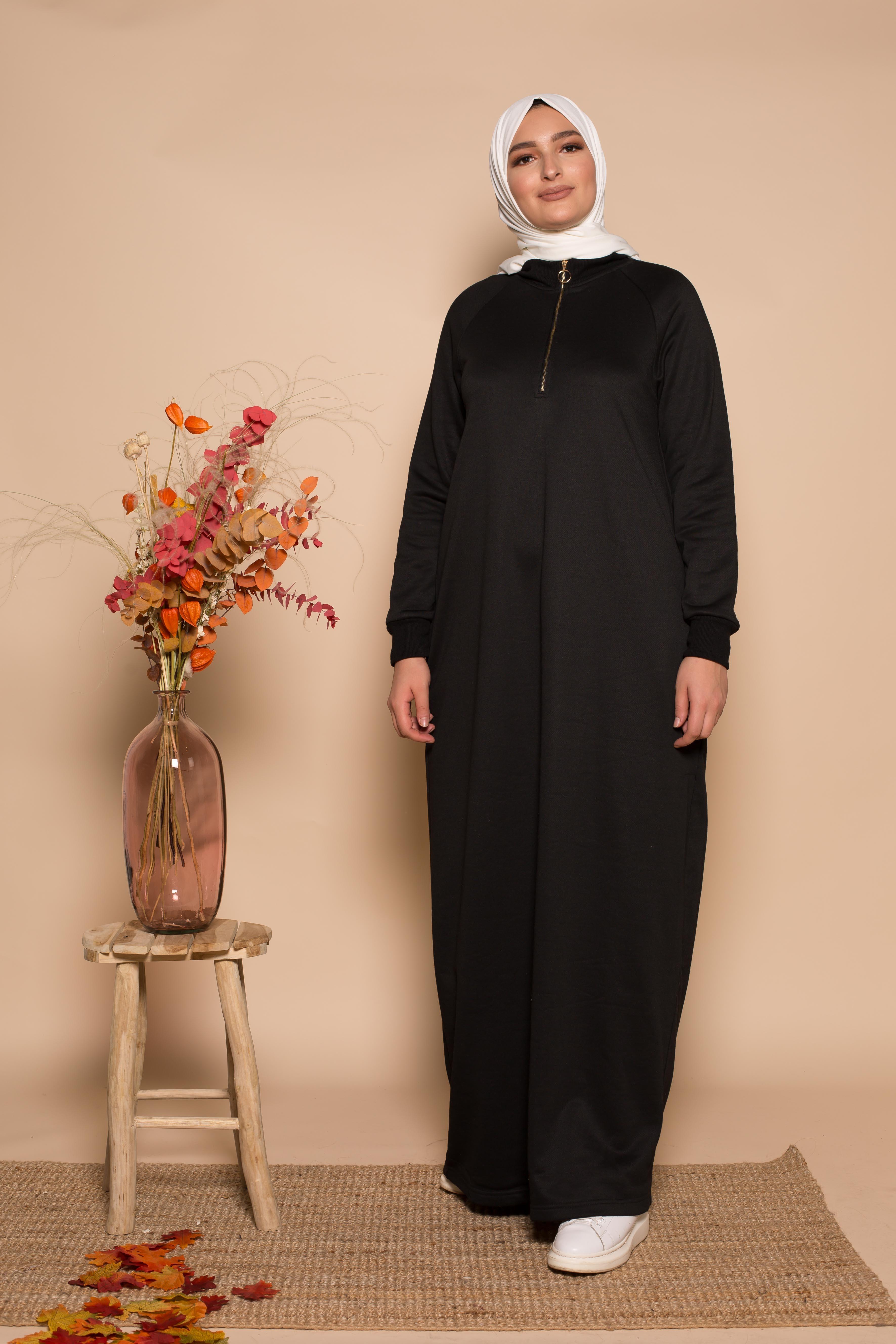 Robe zippy noir