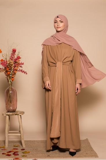 ABAYA WRAP CAMEL