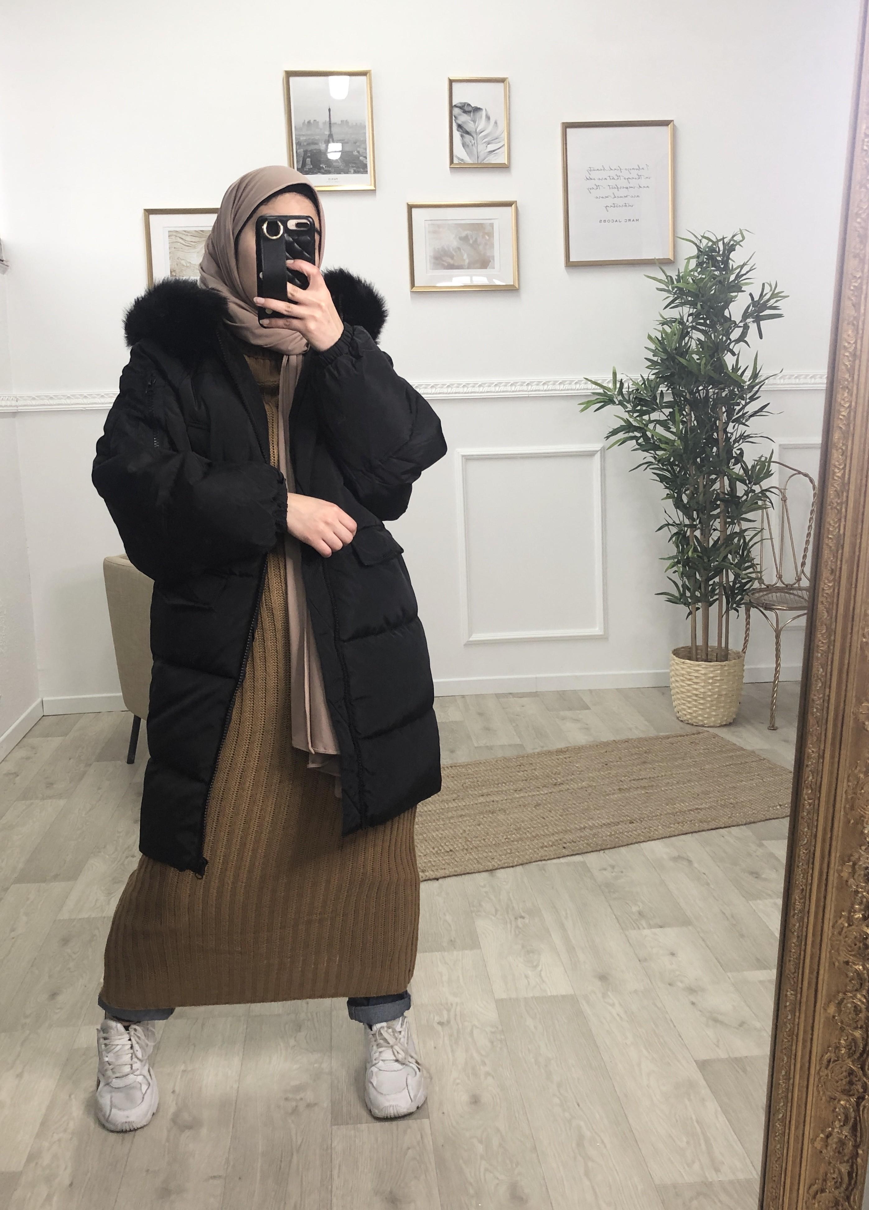 Dooudoune snow noir