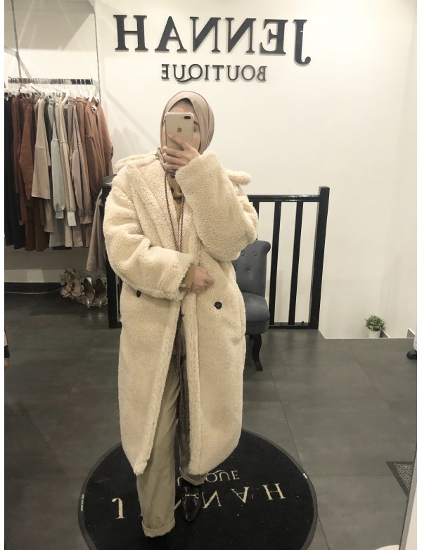 Manteau ours nude