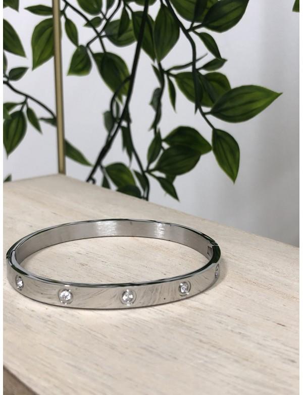 Bracelet carra argent