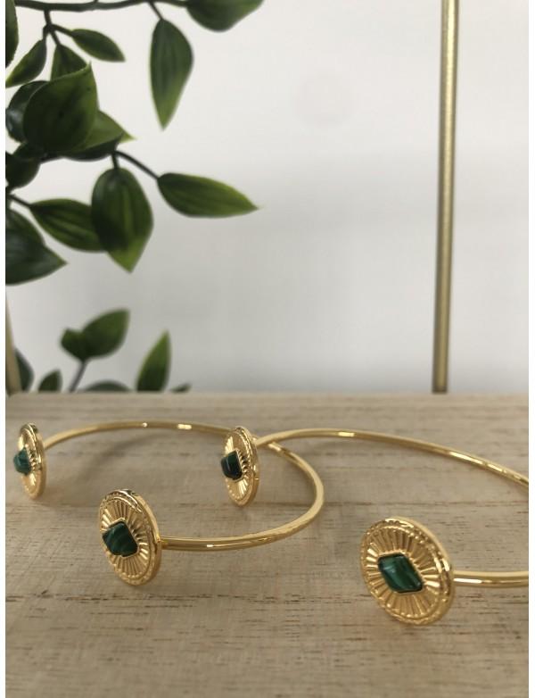 Bracelet jonc green