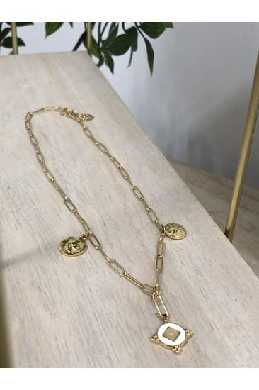 Collier antika doré
