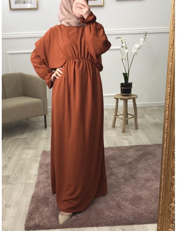 Robe longue sena