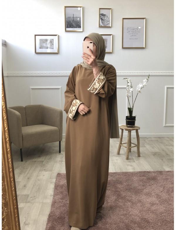 Abaya droite basma