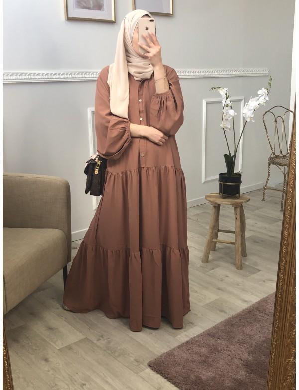 Robe longue lina