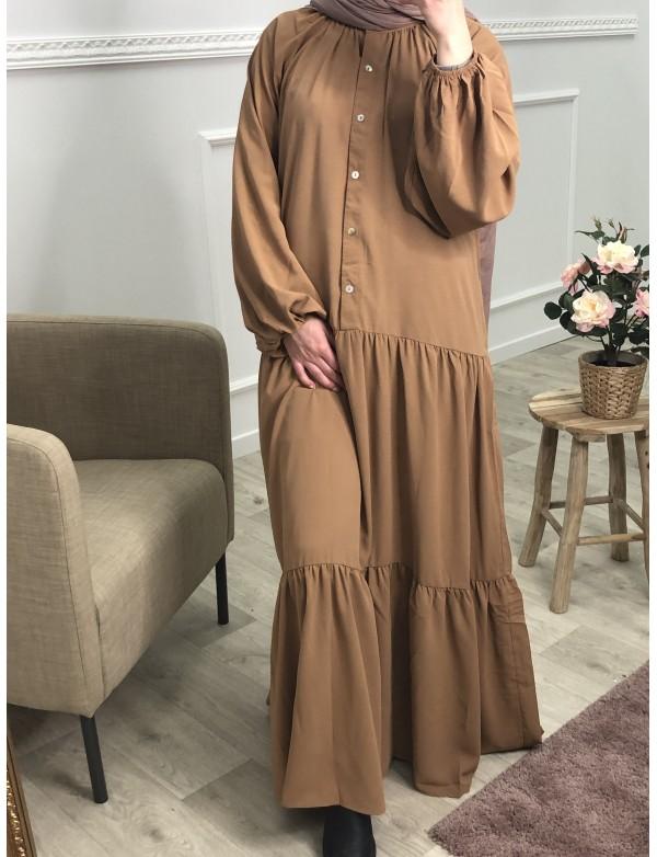 Robe lina camel