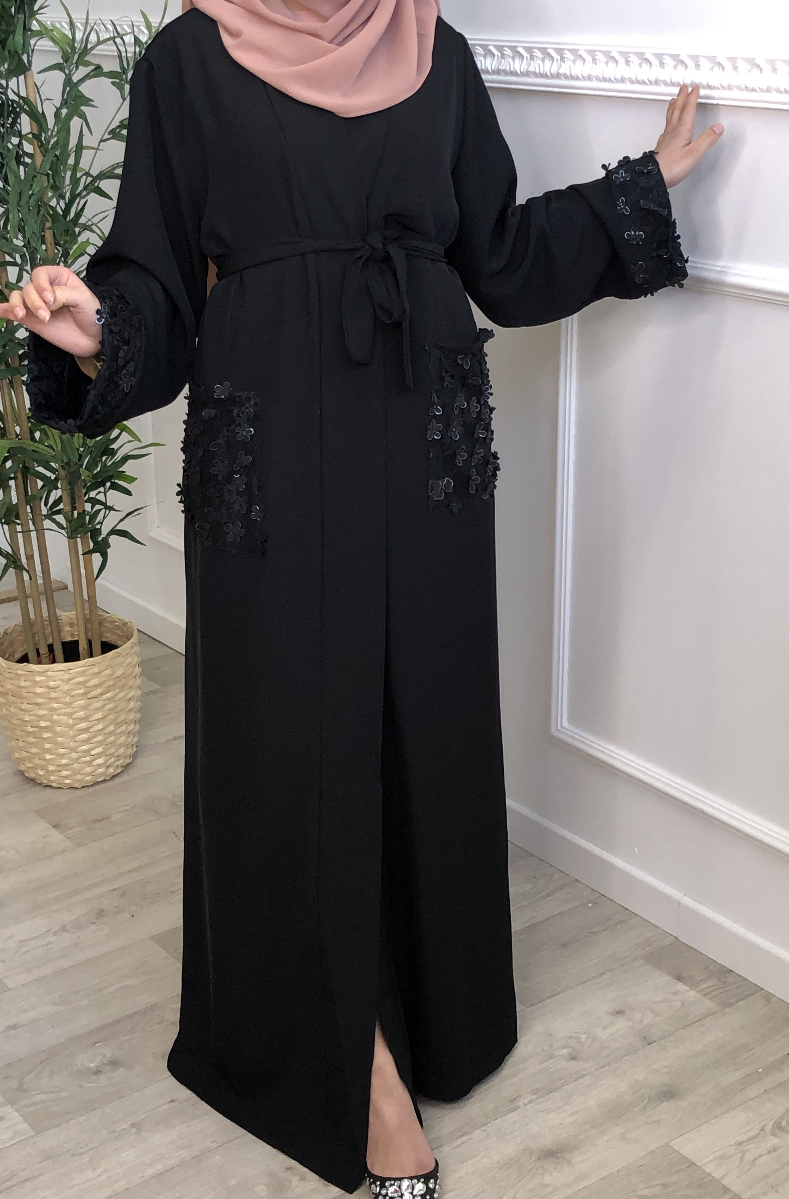 Abaya Intissar noir