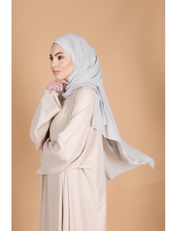 Chiffon hijab waterr green