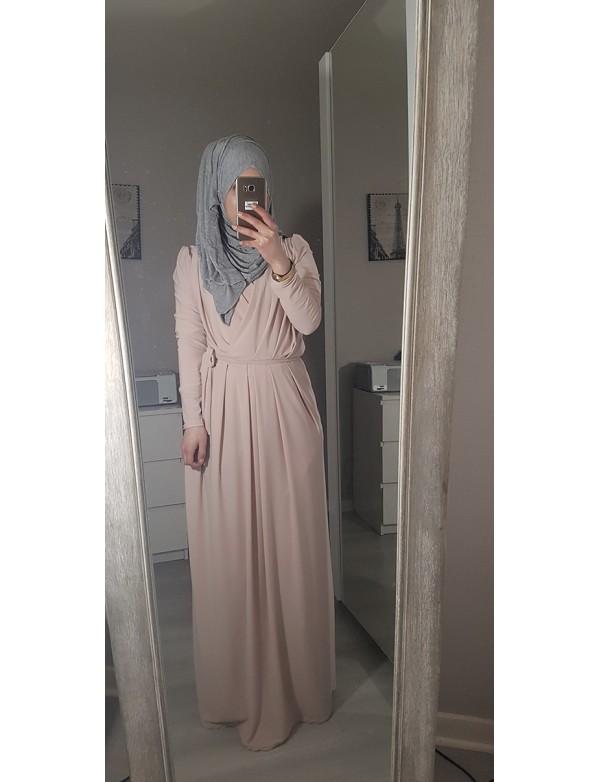 Abaya croisé ZINA