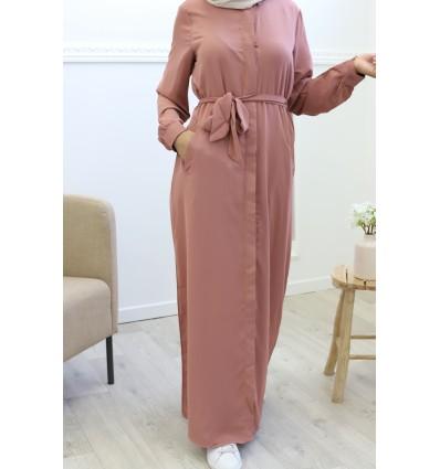 Robe longue alyana